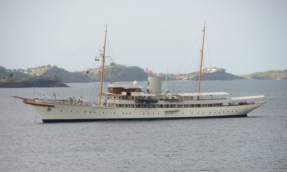 Nahlin - Steam-Yacht