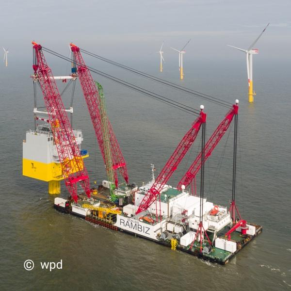 Windpark Nordergründe - OSS Substation Nordsee