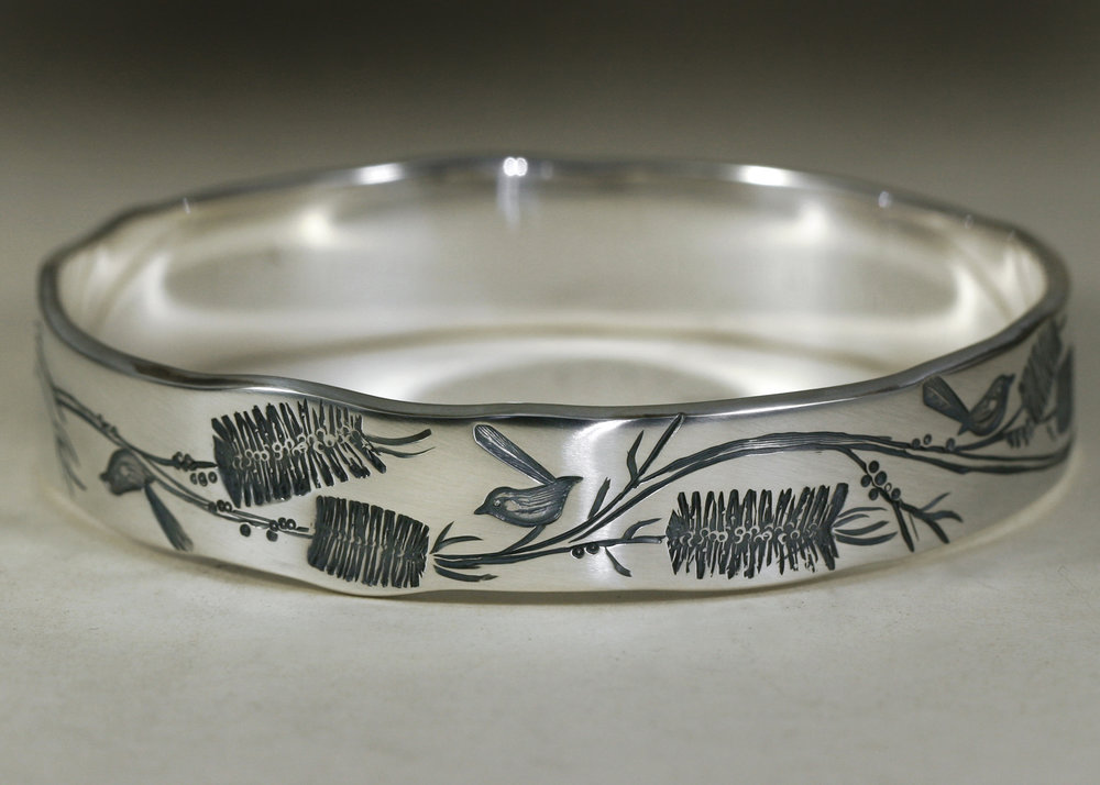 J.Miller-Blue-Wren-Bottlebrush-Sterling-silver-bangle.jpg
