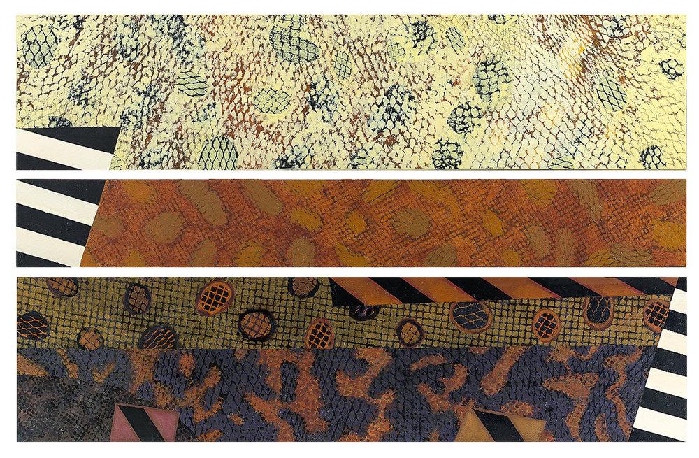 Lesley-Meaney-Intrusion-triptych-acrylic-on-board-122cmW-x-8cmH.jpg