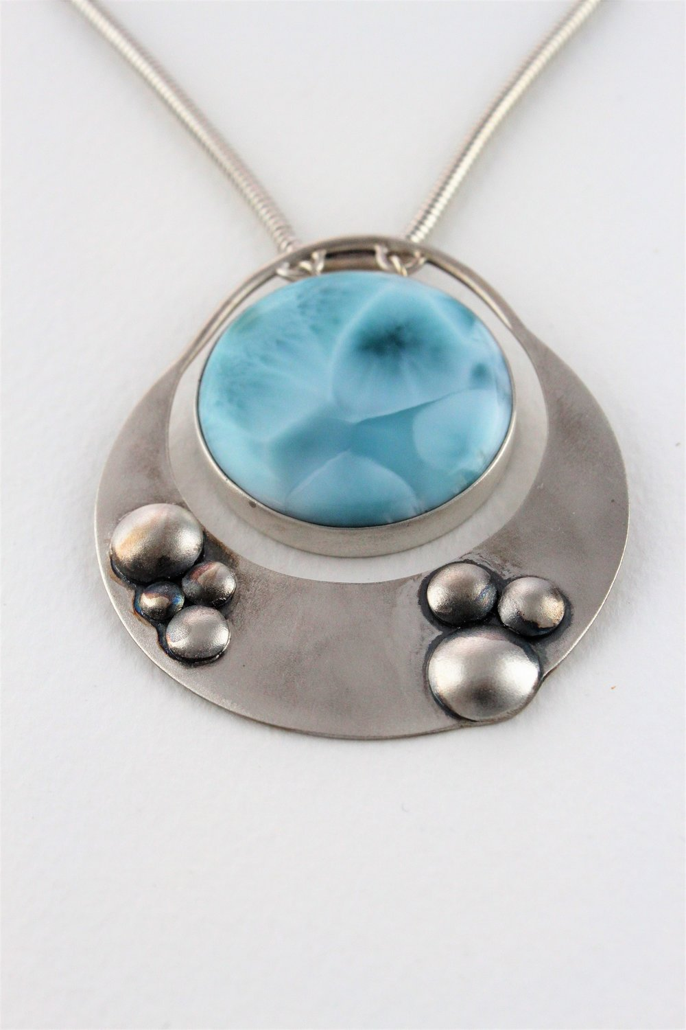 Valma-Rhodes-Seaside-bubbles-Oxidised-sterling-silver-and-Larimar-2017-A.JPG
