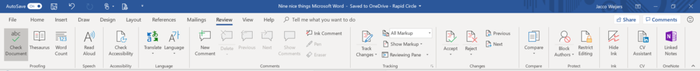 Microsoft Word review tab.PNG