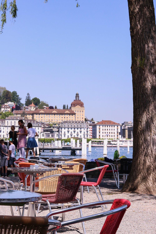 Luzern isst - Sommerbar - Buvette Luzern