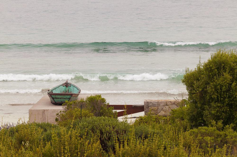 Casa junto al mar -