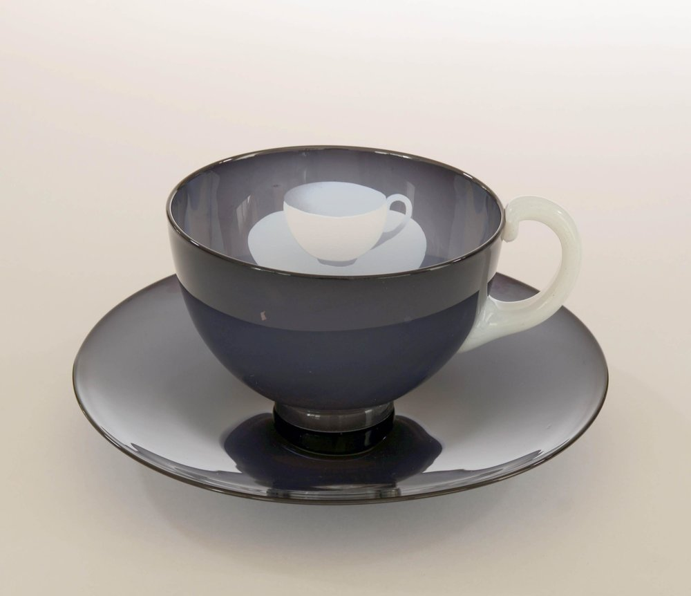 Ann Wolff 1980   CUP in CUP  h 10 cm