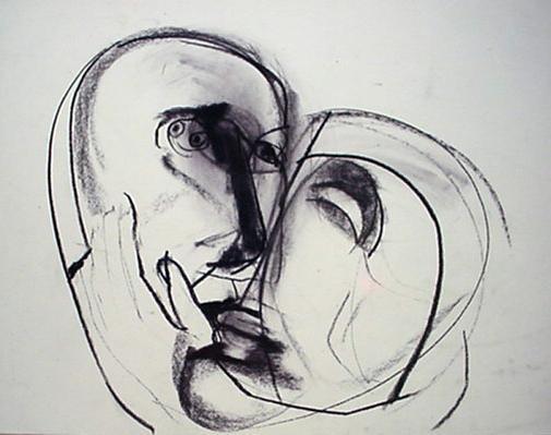 Ann Wolff 2000  DOUBLE  56 x 52 cm