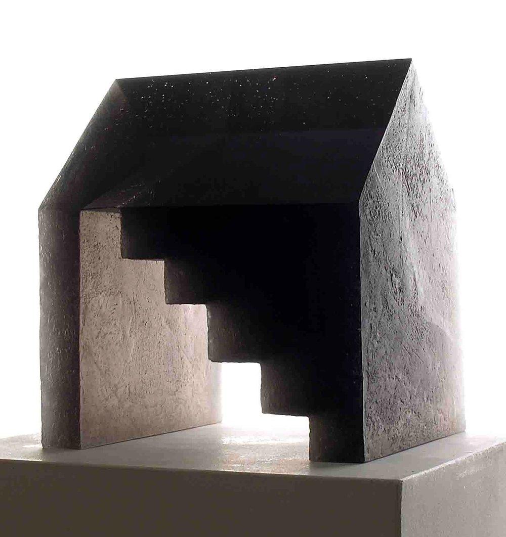 Ann Wolff 2004    STAIR HOUSE  28 x 25 x22 cm