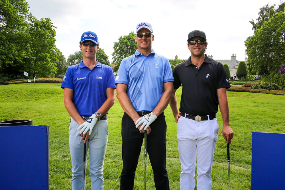 Renato Paratore, Robert Karlsson and Romain Bechu