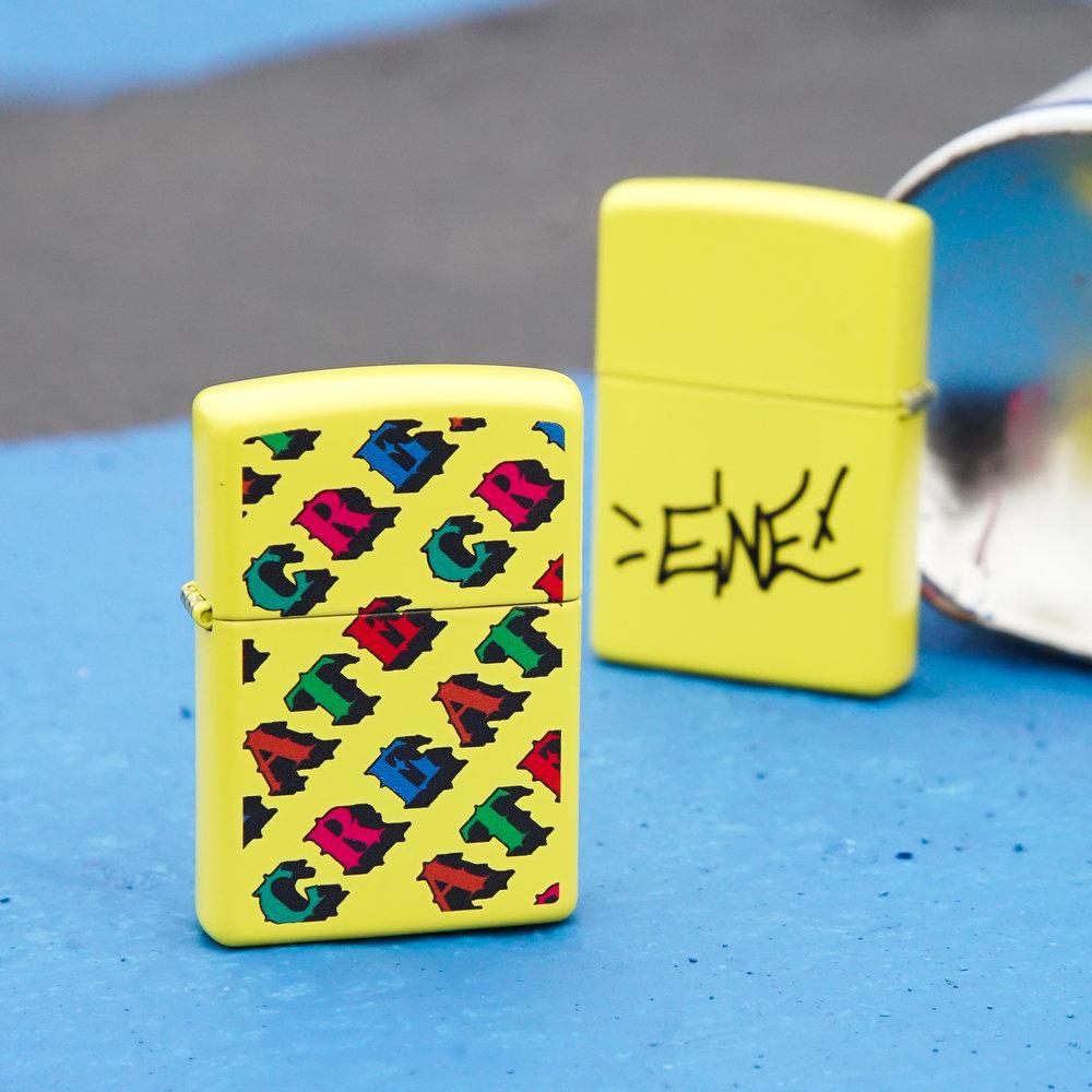 The CREATE Zippo Lighter
