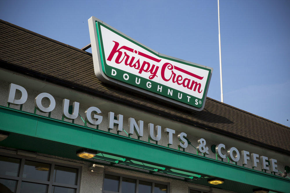 Krispy Cream sign