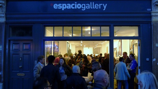 Espacio Gallery  159 Bethnal Green Road London E2 7DG Opening hours: Tuesday-Saturday 1-7pm, Sunday 1-5pm. Closed on Monday