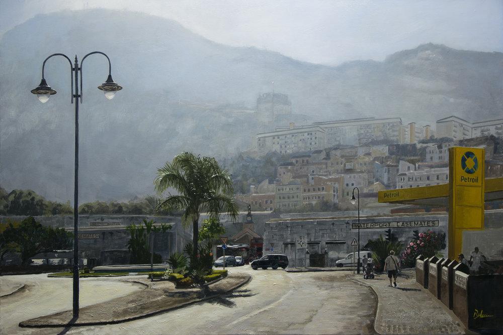 Benjamin Hassan, Distracted, Oil on Canvas, 50cm x 70cm,  http://www.benjaminhassan.com