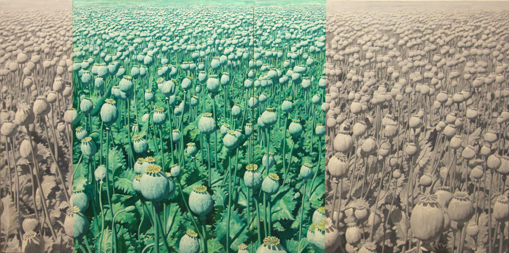Alexey Chizhov, Horizon, oil on canvas, 100x200cm,  http://alexeychizhov.ru/