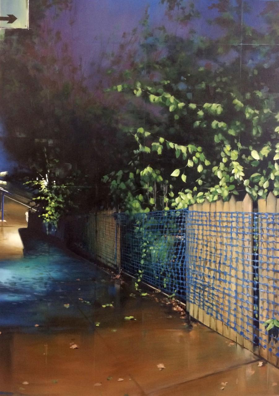Jen Orpin, #NoFilter, Oil on canvas, 107cm x 77cm x 4.5cm