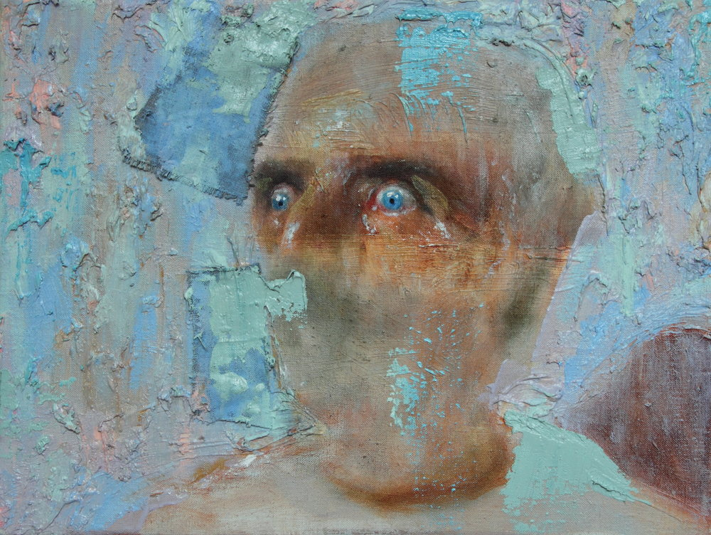 Tom Robertson, ICU, Oil on Linen, 30 x 40 cm,  http://www.tomrob-art.co.uk