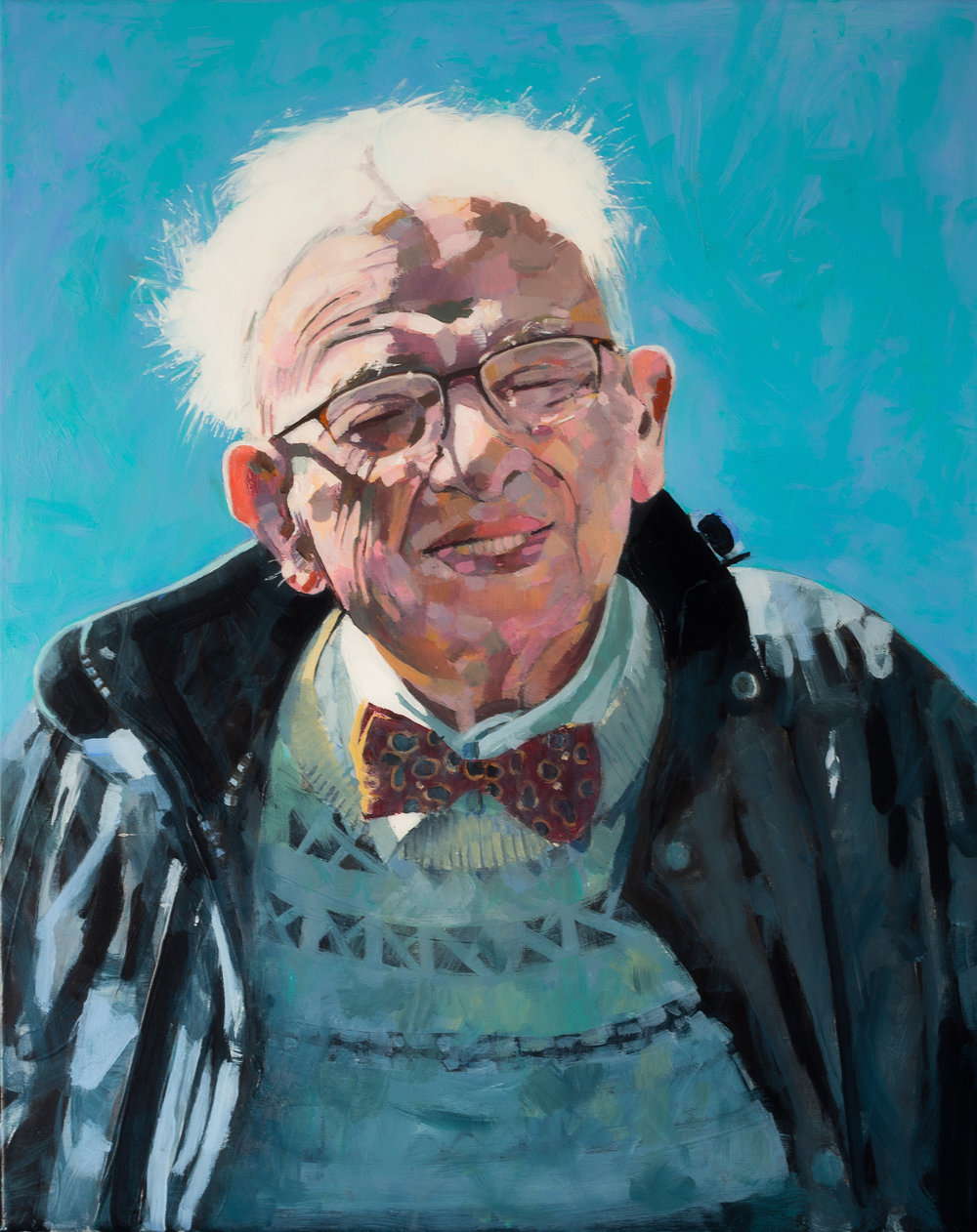 Roy Goodman, Dad, acrylic, 51x31xm, www.roygoodman.co.uk