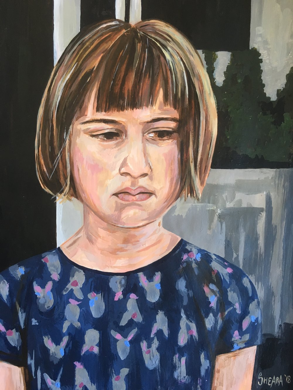 People's Choice Award Winner: 'Girl in the Rabbit Dress' by Sheara Abrahams