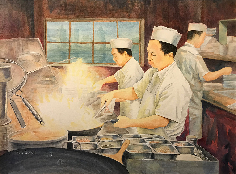 People's Choice Award Winner: 'Wok Cuisine' by Francisco Carlos Ruiz Burgos