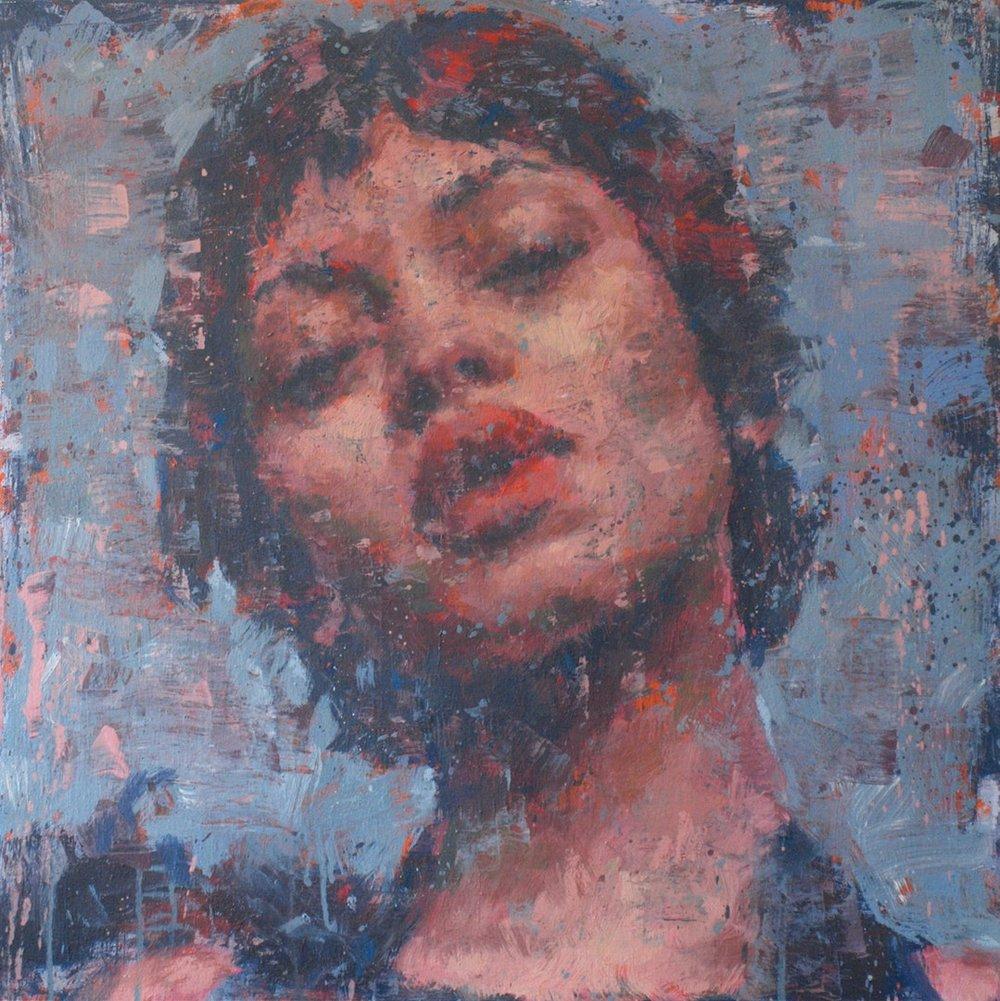 Robert Hewer , 'Brooklyn Nights', Acrylic on Canvas, 61 x 61 cm