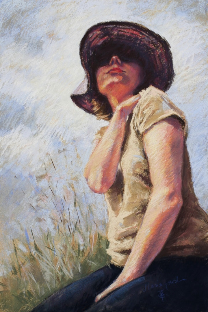 Agata Typiak Maciagowska , 'Midday', Soft Pastel on Paper, 40 x 60 cm