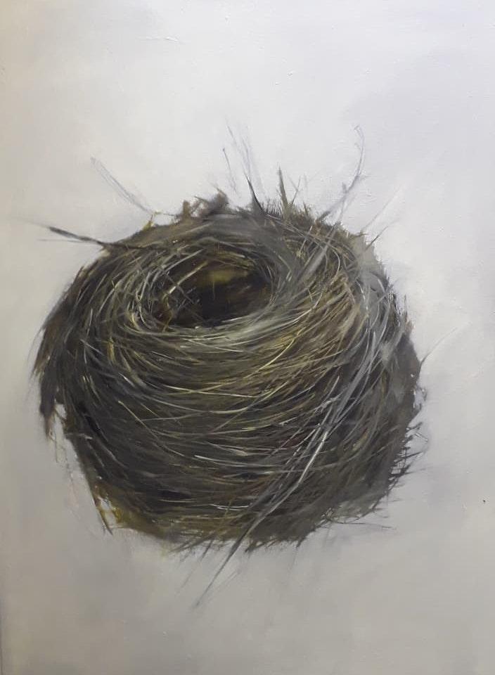 Adele Underwood  Nest one  Oil on canvas, 90 x 120 cm  http://www.adeleunderwood.co.uk