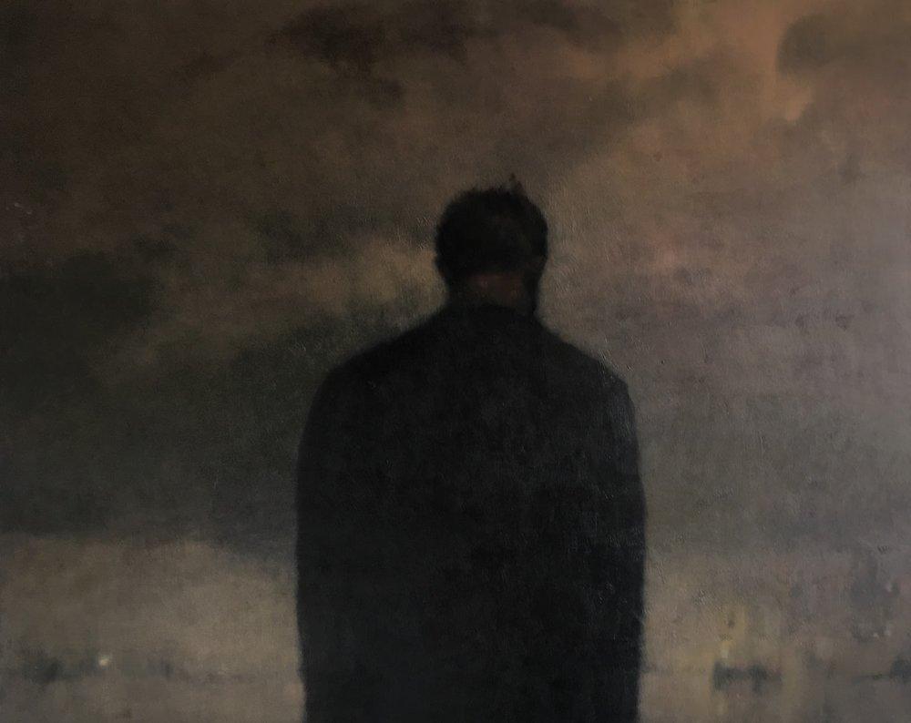 Anne Magill  Ache  Oil on canvas, 120 x 170 x 40 cm  http://www.annemagill.com