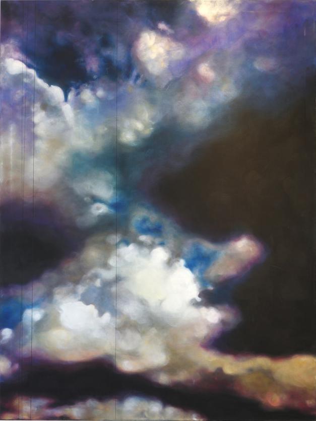 Charlotte Aiken  Sky 16  Acrylic on canvas, 200 x 150 x 5 cm  https://www.charlotteaiken.co.uk