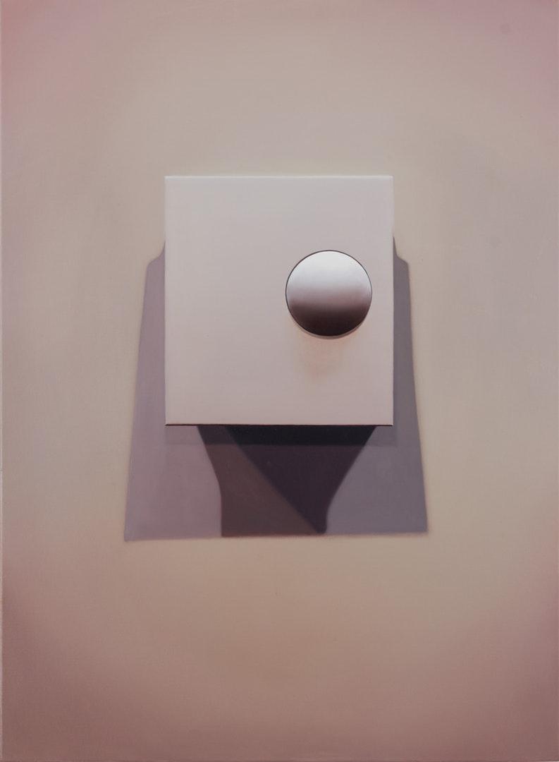 David Micheaud  S&S Thermostat  Oil on canvas, 76 x 56 x 2 cm  http://davidmicheaud.com