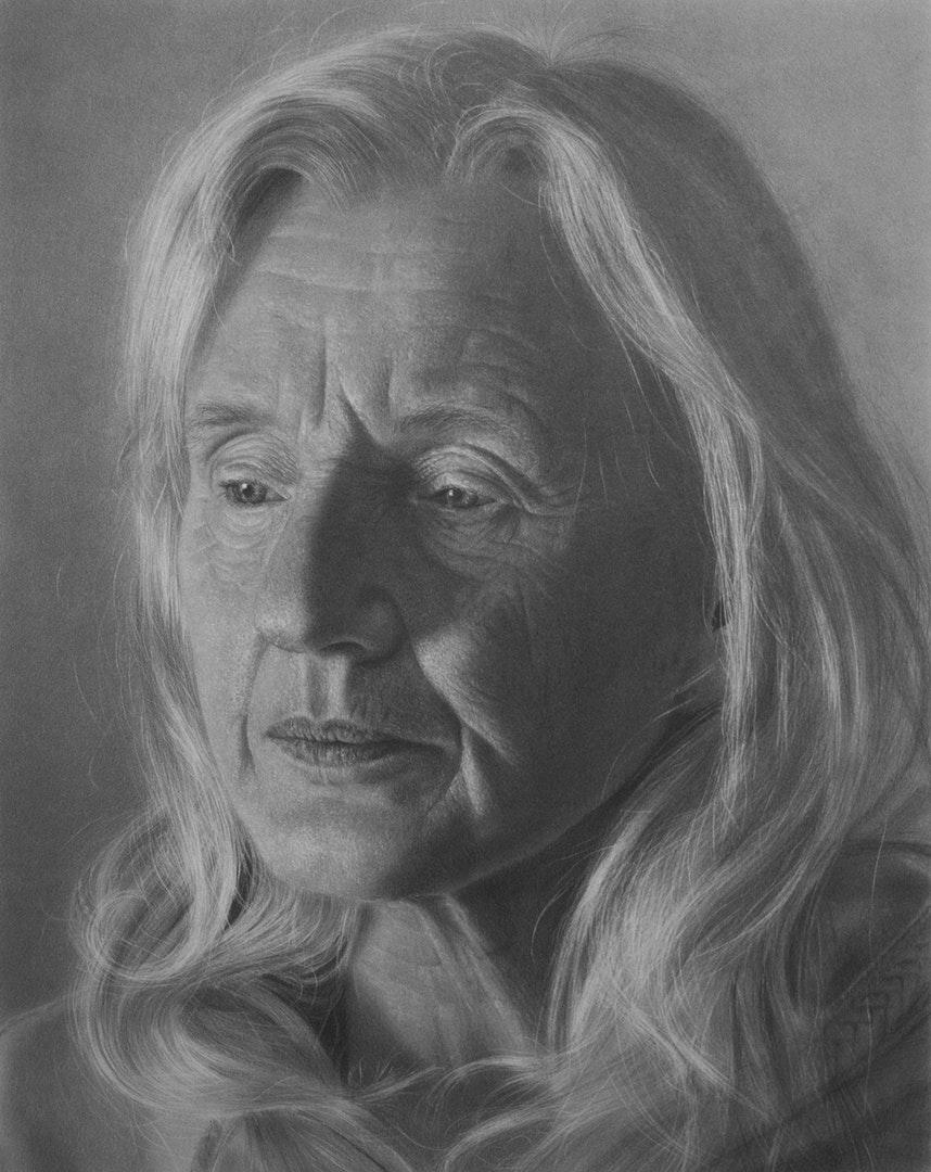 Emma Towers-Evans  Mother  Graphite pencil, 42 x 60 cm  http://www.eteportraits.com