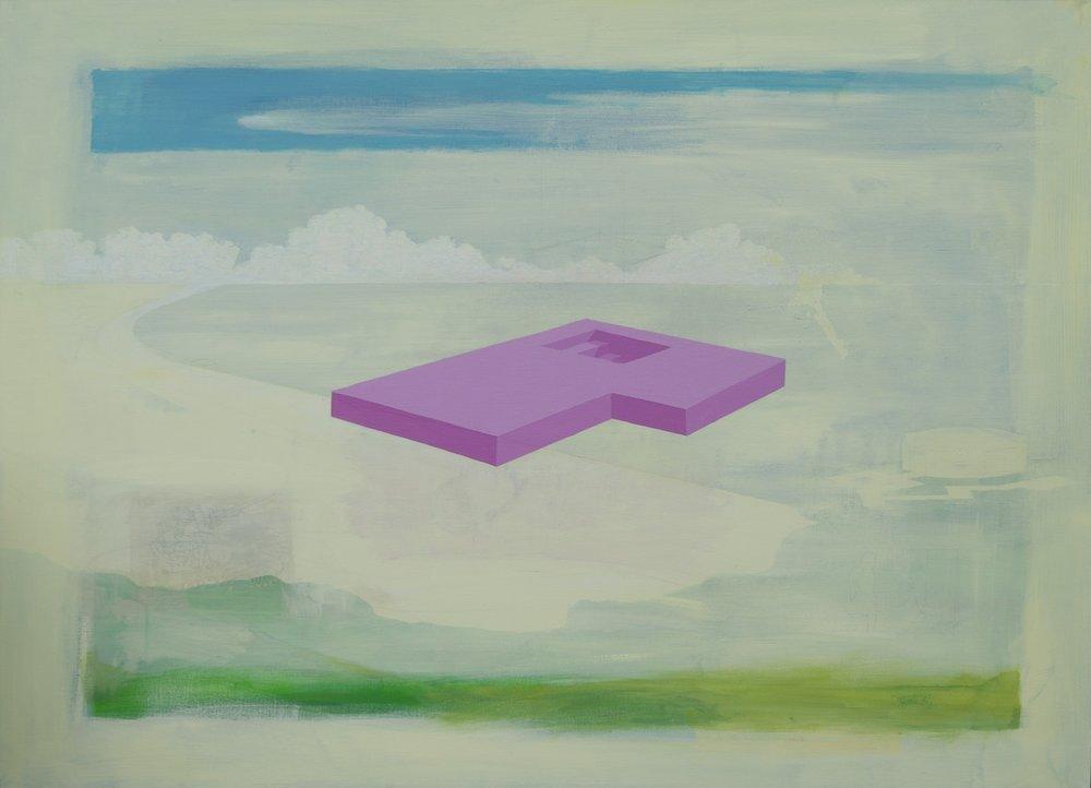 Gary Scholes  Component  Acrylic on canvas, 92 x 127 x 4 cm  http://www.garyscholes.com