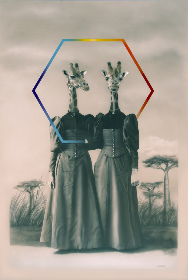 Gisela Banzer  Habitat memories 2  Acrylic on canvas, 120 x 80 x 2.5 cm  https://giselabanzer.wordpress.com