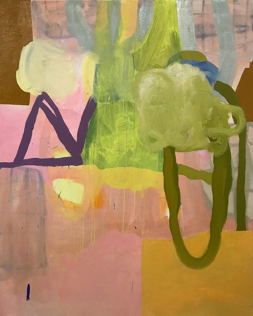 Henry Ward  Bleach  Oil on linen, 125 x 100 cm  http://henryhward.com
