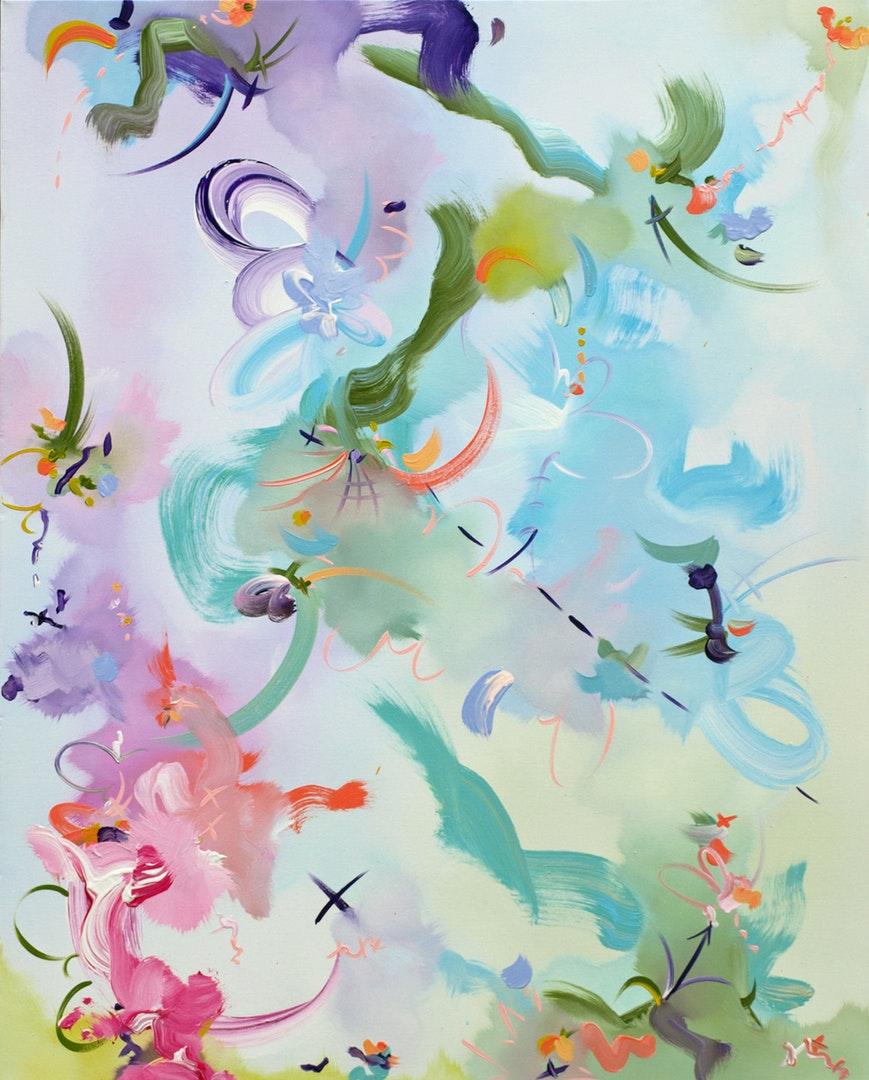 James Tebbutt  Stay Close  Oil on canvas, 100 x 80 x 4 cm  http://www.Jamestebbutt.com