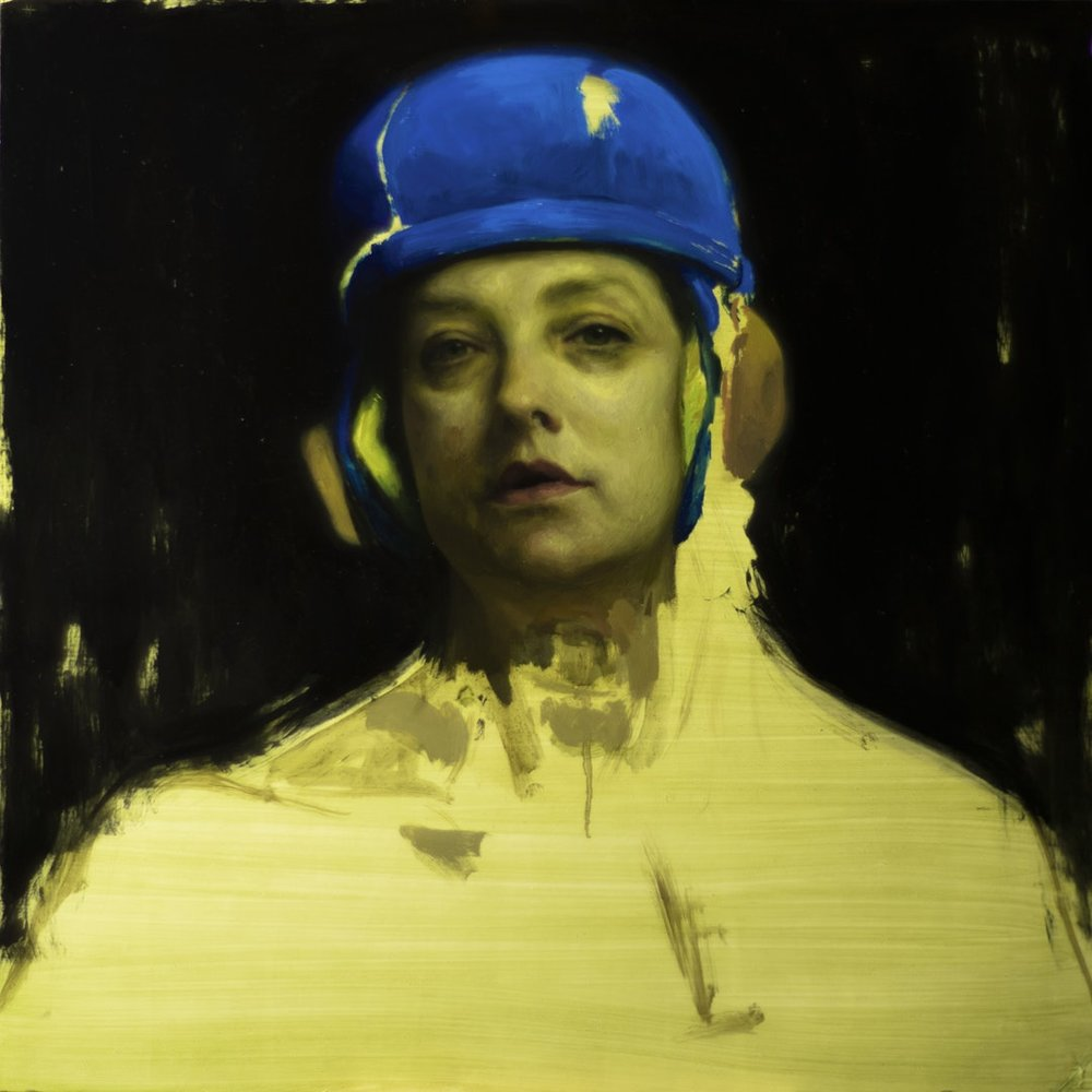 Naima Aouni  Mono no aware  Oil on panel, 60 x 60 cm  https://www.naimaaouni.com/