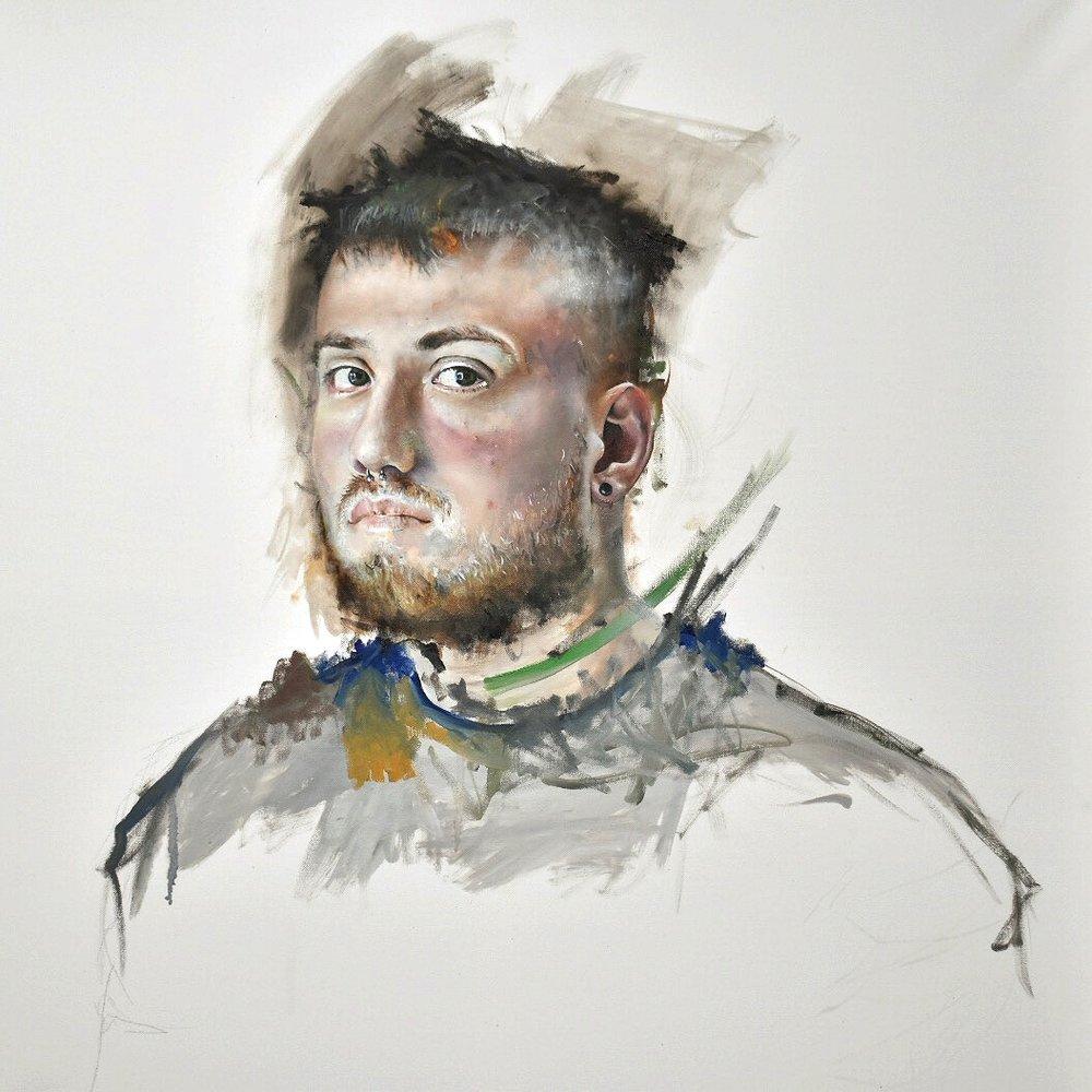 Connor gewirtz  Palimpsest  Acrylic on wood, 45.72 x 60.96 x 3.81 cm  http://connorg.art