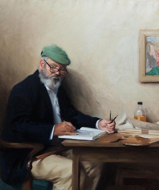 Jackson's Open Painting Prize 2019 Shortlisted Entry  Daniel Yeomans Dystonia & I ; The rennaissance of Self Oils on canvas, 130 x 110 x 5 cm . #jopp2019 #jacksonsopenpaintingprize2019 #joppshortlist2019