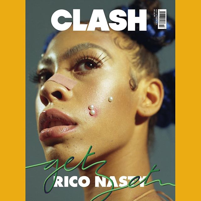 "Sugar trap pioneer @riconasty is the third of our four digital #CLASH110 cover stars. — ""Instead of trying to blend in with what should be expected from a female rapper, I think I'm going to own it; my voice, the brashness, the rawness, I'm just going to embrace and evolve with the lyrics."" — Interview by @natalieisonline. Photography by @will.spoon. Fashion by @jaysonhindley. Make up by @thescottedit. Hair by @rohmempire. Creative direction by @rbpm_. Custom cover type by @matmaitland — #CLASHxRICONASTY"