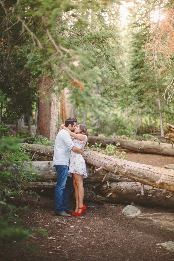 utah mountain engagement photos by tyler rye photography
