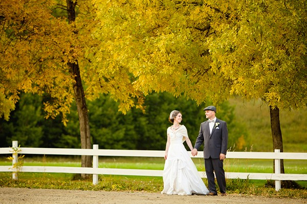 rustic canada wedding