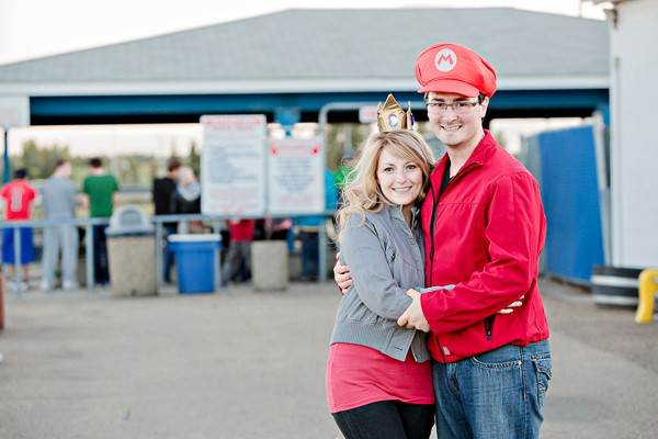 mario kart inspired engagement session