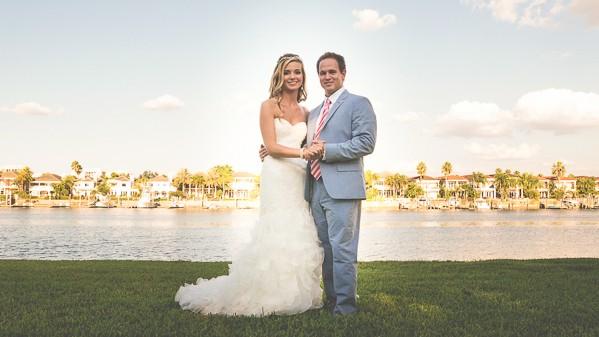Tampa Florida Real Wedding