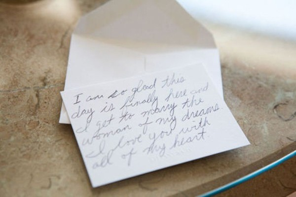 Groom Letter To Bride On Wedding Day