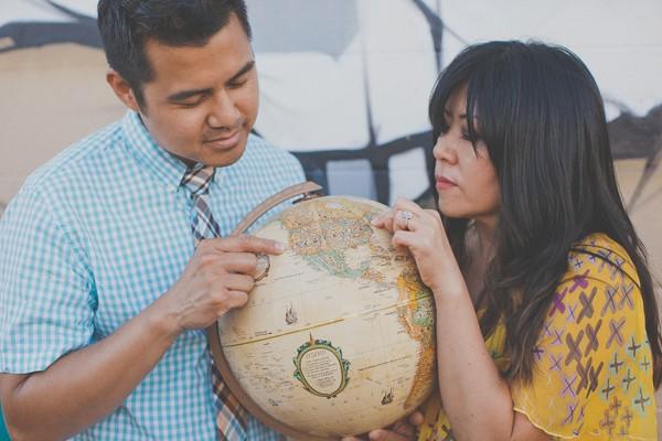 honolulu hawaii engagement photos