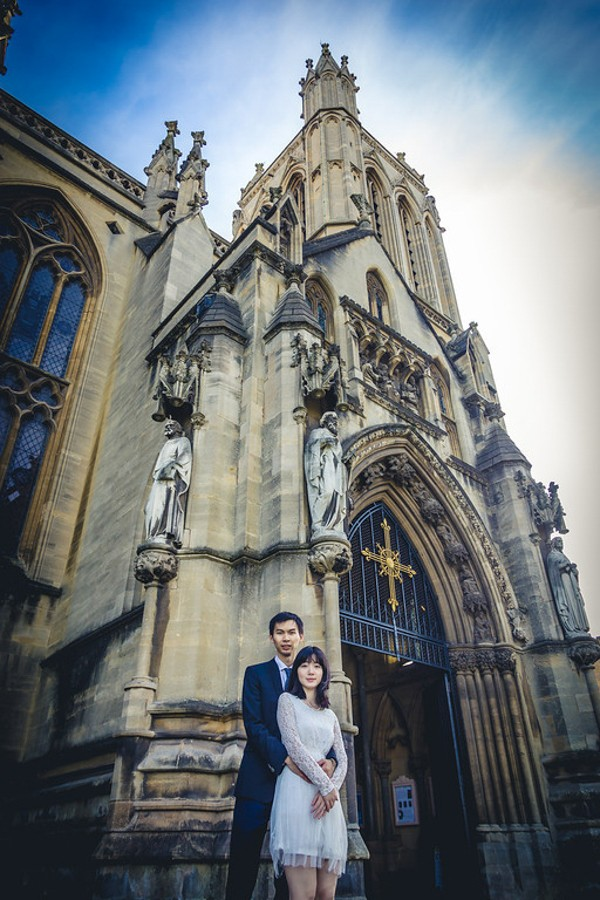 university of bristol engagement photos