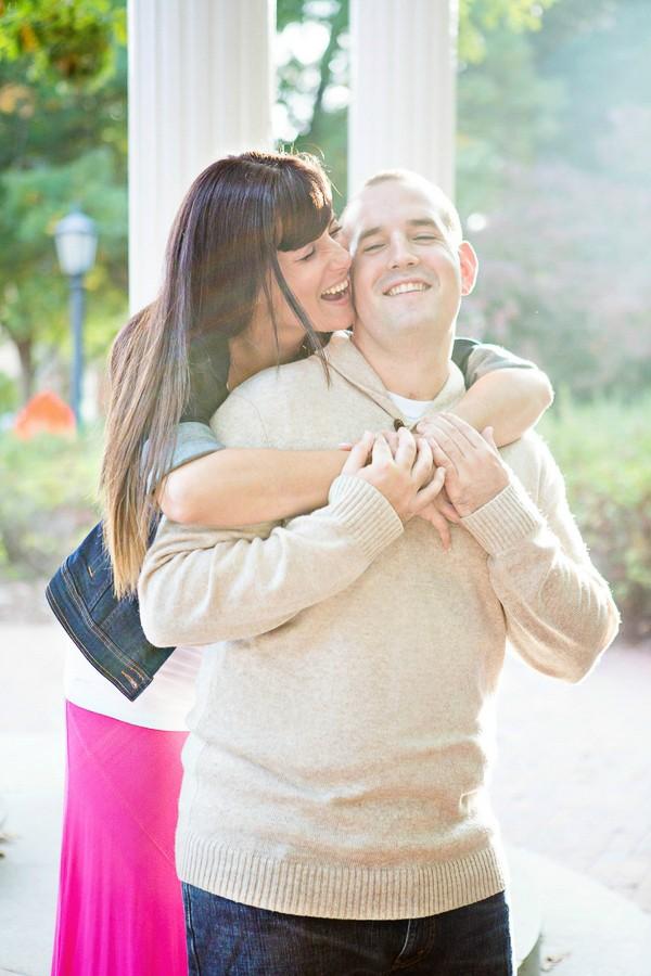 UNC Chapel Hill Engagement Photos