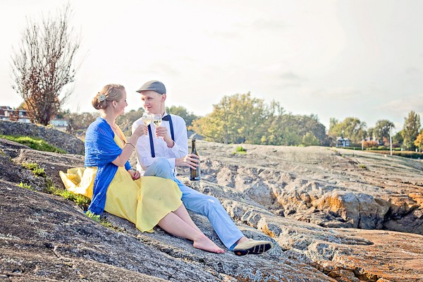 20's Style Engagement Session
