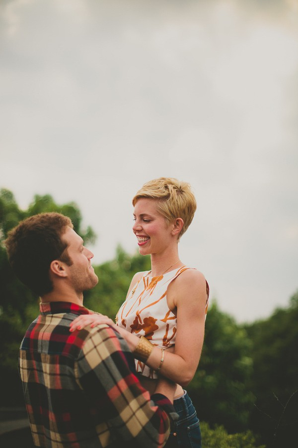 Rooftop Styled Shoot By M Lindsay Photography