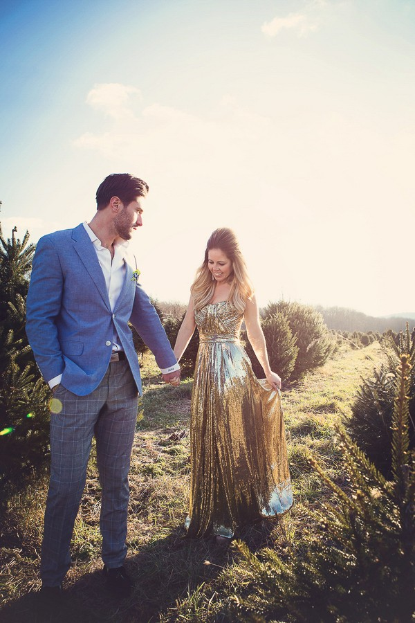 Rustic New Jersey Engagement Session