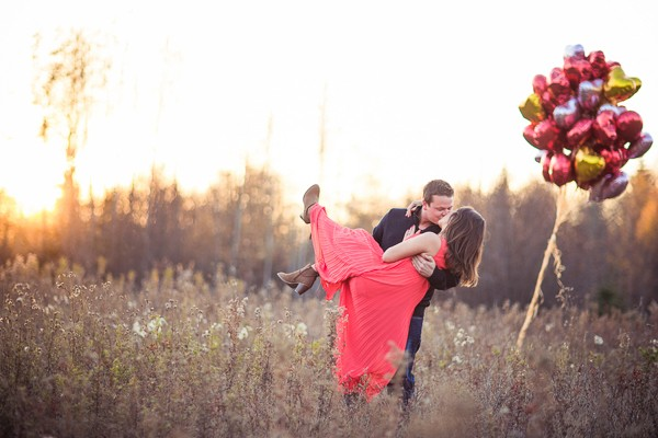 Alberta Canada Engagement Photos
