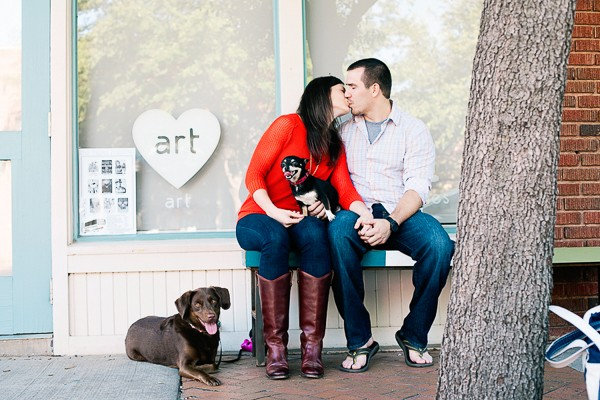Dallas Texas Engagement Photos